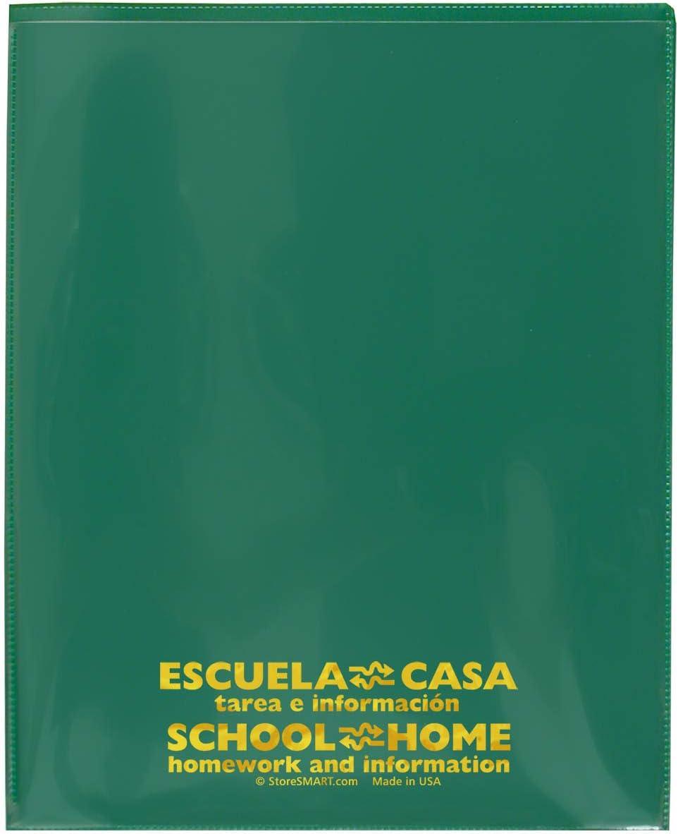 StoreSMART - School Home Folders Green 50-Pack Du お金を節約 2020 Archival