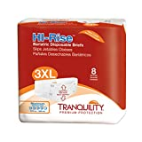 Tranquility Hi-Rise Bariatric Disposable Briefs -...