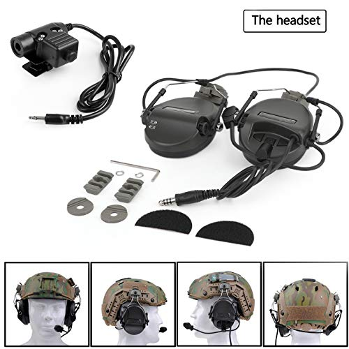 Purchase Bruce & Shark Z034 Tactical Anti Noise Headphones for ICOM IC-F3 F3S IC-F4/S IC-F4SR IC-F4T...