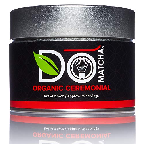 DoMatcha - Organic Ceremonial Green Tea Matcha Powder, Natural Source of...
