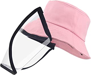 Hat with Face Shield for Kids, Cute Outdoor Sunhat Cap...
