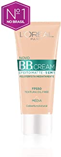 Base Bb Cream L'oréal Paris Efeito Matte 5 Em 1 Fps 50 30g - Media, L'Oréal Paris, Media
