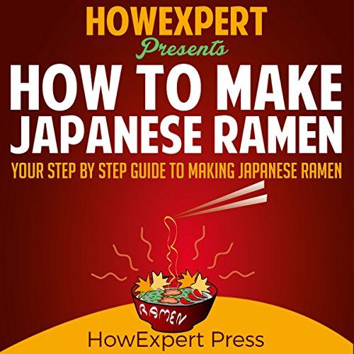 How to Make Japanese Ramen audiobook cover art