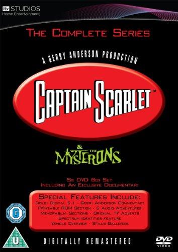 Captain Scarlet - Complete Series [6 DVD Box Set] [UK IMPORT]