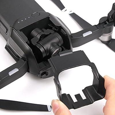 For DJI Mavic AIR Drone,Diadia Mavic Pro Accessories Camera Lens Sun Hood Sunshade Cap Glare Gimbal Camera Cover For DJI Mavic AIR from Diadia