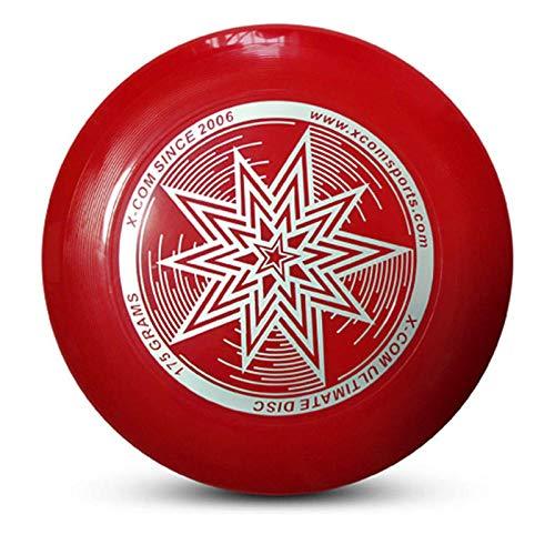Professionelle extreme Frisbee Frisbee 175g Wettbewerb Frisbee Outdoor-Spiel Sport Team Frisbee Strand Unterhaltung Spielzeug-1 rot