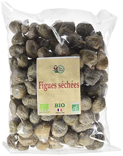 RITA LA BELLE Figues Séchées 1 kg - BIO-Lot de 2