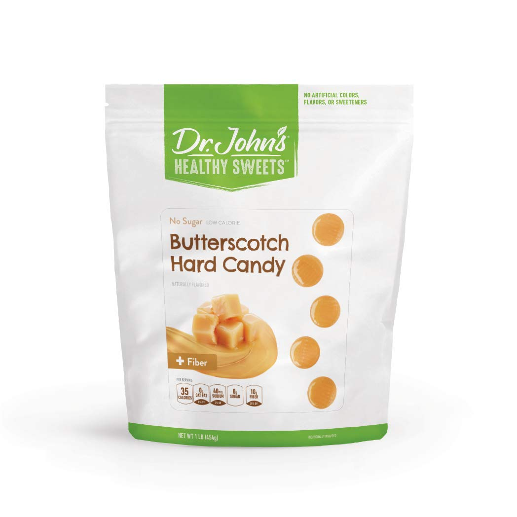 Dr. John's Healthy Sweets Sugar Free Butterscotch Hard Candies (