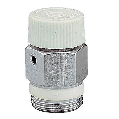 "3/8"" Caleffi Manual Radiator Air Vent Bleed Plug Valve No Need Key from Caleffi"