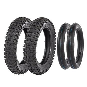 TDPRO 2 Sets 12 1/2 x 2.75  12.5 x 2.75  Tire and Inner Tube for Mini Pocket Bikes Dirt Bike Rocket Dune Buggy