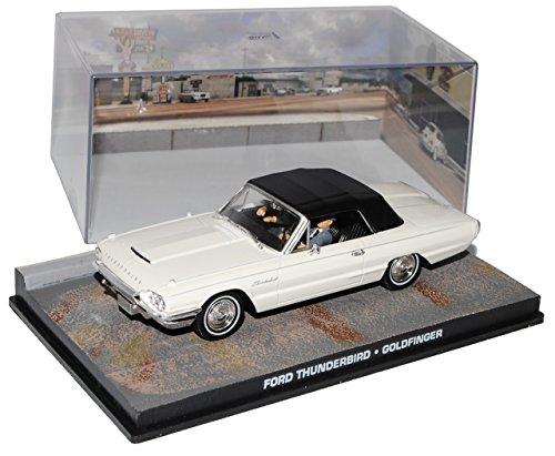 Ixo Ford Thunderbird Gold finger James Bond 007 - Modellino auto 1/43