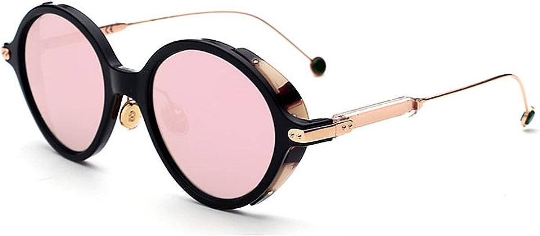 Women's Sunglasses Delicate Sunglasses for Women Print Frame Plastic Rimmed Classic Lady's Sunglasses for Driving color Plating Lens Sunglasses Bright colors Sunglasses,
