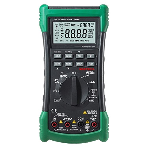 Mastech MS5208 6600 Counts Digital Multimeter Insulation...