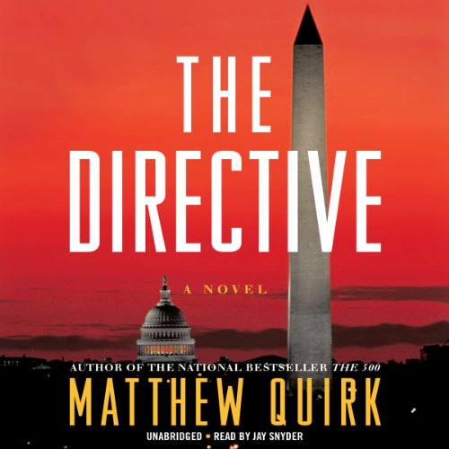 The Directive audiobook cover art
