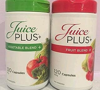 comprar comparacion Juego de 2 botes de suplemento Juice Plus+ con 120 cápsulas de mezcla defrutas y verduras