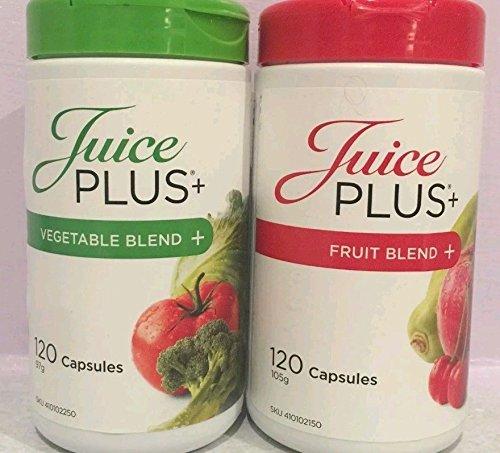 Juice Plus Premium Capsule 120 Fruit Blend 120 Vegetable Blend by NSA