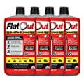 MULTI SEAL 20134 4-Pack (128 oz Sealant) FlatOut Tire Additive (Sportsman Formula), for ATVs, UTVs Sides, Golf Carts, Dirt Bikes, Off-Road-Only Jeeps