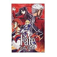 Fate/Stay Night フェイト/ステイナイト アニメキャラクター大人の子供のための300ピースパズル、大人のための木製ジグソーパズル教育玩具diyの家の装飾