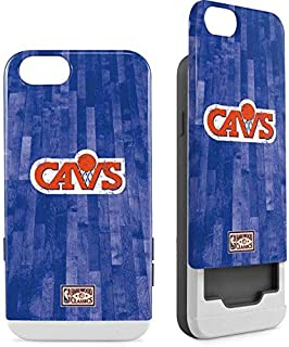 Skinit Wallet Phone Case for iPhone 6/6s - Officially Licensed NBA Cleveland Cavaliers Hardwood Classics Design