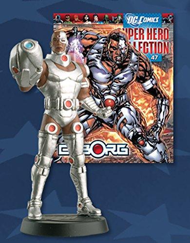 dc comics Statue von Blei Super Hero Collection Nº 47 Cyborg