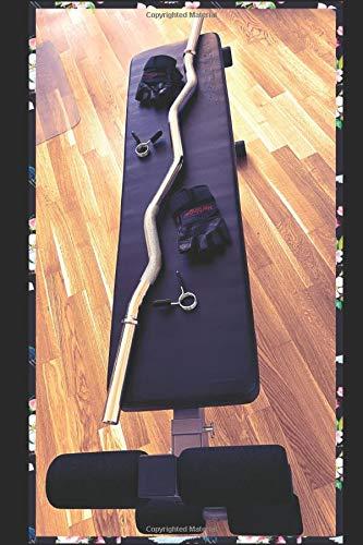 Daily Fitness Planner: Holt euch euer 6x9 Fitness Planner - Trainingsbuch | Fitness Tagebuch | Trainingstagebuch fürs Gym, Fitnessstudio, Krafttraining (Englische Ausführung)