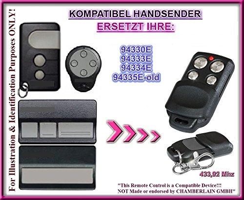 Liftmaster 94330E / 94333E / 94334E / 94335E-OLD kompatibel handsender, ersatz sender, 433.92Mhz rolling code. Top Qualität ersatzgerät!!!