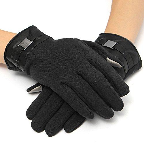 EsportsMJJ Heren Handschoenen Volledige vinger Smartphone Touch Screen Cashmere Handschoenen Wanten Winter