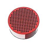 P Prettyia Altavoz de Ducha Inalámbrico Bluetooth para Subwoofer IPX7 Resistente Al Agua para Baño para Bañera de Hidromasaje, Potente - Rojo