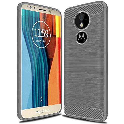 United Case Coque Slim Gris pour Motorola Moto G6 Play | Silicone Cover