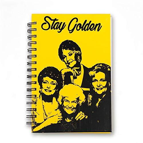 Golden Girls Stay Golden Spiral Notebook