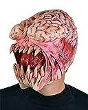 Zagone Brain Eater Mask, Monster, Creature Exposed Brain
