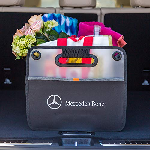 Trunk Organizer, Compatible with all Mercedes-Benz vehicles. Large Collapsible Auto Storage Fits All Makes and Models.