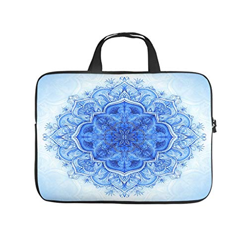 Laptop Bag Blue Scratch-resistant Modern Design -Laptop Bag Compatible with 13-15.6 inch Pro white 17 zoll