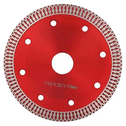 YUQIYU Ruedas de disco de cerámica Circular 110 * 20 * 10 mm herramienta de corte de diamante microcristalinas