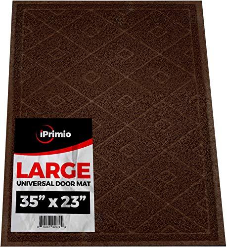 Universal Fußmatte–Karomuster (Größe 88,9x 61cm)–duraloop Mesh fängt Schmutz und Ablagerungen–New Plaid Design