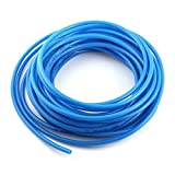 RespiKart 100mtrs Pneumatic Air Compressor Tubing PU Hose Tube, Pipe for Dental Clinics, Air compressors 6mmx4mm (Blue Color)