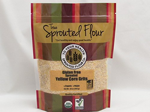 Popularity 5 Philadelphia Mall lb. Organic Sprouted Yellow Grits Corn