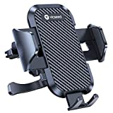 VICSEED 2021 Upgrade Ultra Stable Car Phone Mount Easy Clamp Universal Car Phone Holder Air Vent Cell Phone Holder for Car Compatible with iPhone 12 11 Pro Max Mini SE XS XR Galaxy S20 Note 20 10 etc