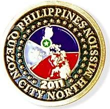 LDS Philippines Quezon City North Mission Commemorative Lapel Pin