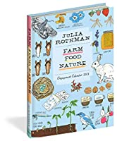 Julia Rothman Farm Food Nature 2021 Calendar