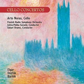 Elgar / Dvorák : Cello Concertos - Bartók : Rhapsody No.1