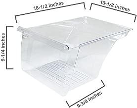 Whirlpool W10854037 Refrigerator Crisper Drawer Genuine Original Equipment Manufacturer (OEM) Part