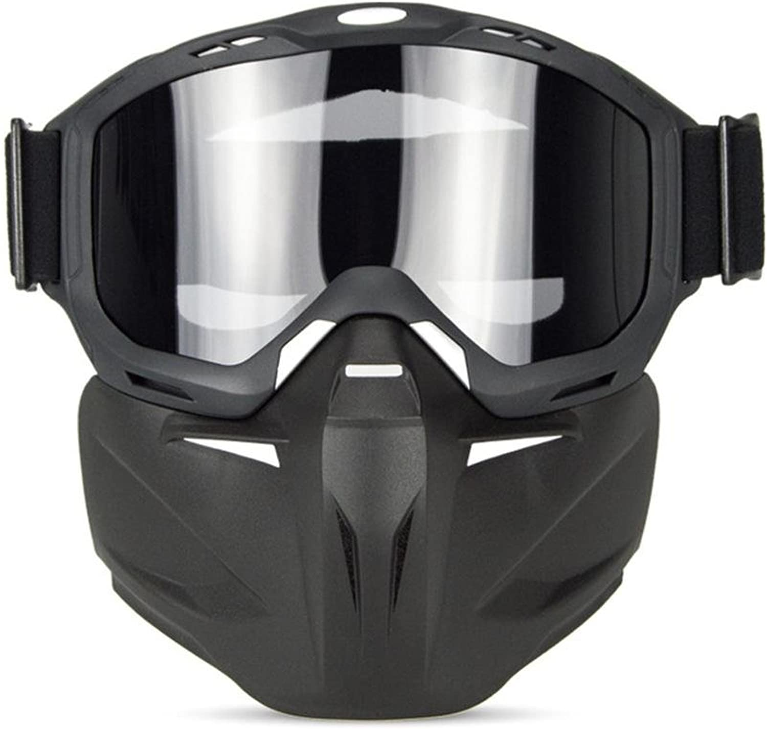 Outdoor Sports Anti-UV Glasses Multifunctional Knight Mask Goggles Cross-Country Anti-Impact Lightweight Motorcycle Glasses for Riding and Climbing