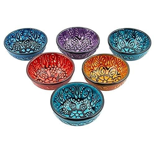 Piccole Ciotole in Ceramica Modellate Su Misura E Realizzate a Mano, Ciotole per Presentazioni E Salse, Ciotole per Salse