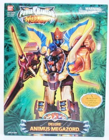 Power Rangers Deluxe Animus Megazord Wild Force Action Figure product image