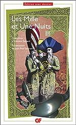 Les Mille et une nuits, tome 3 d'Antoine Galland
