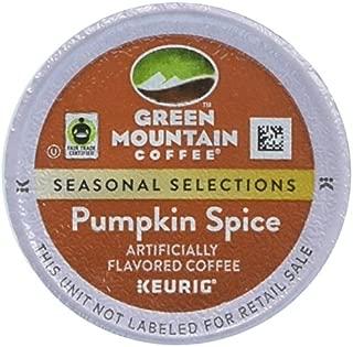 Green Mountain Fair Trade Pumpkin Spice K-Cup 48 count