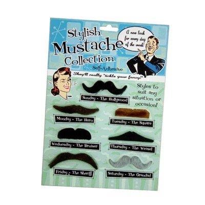 Moustache Ensemble de 7 modèles Moustache Fancy Dress Party