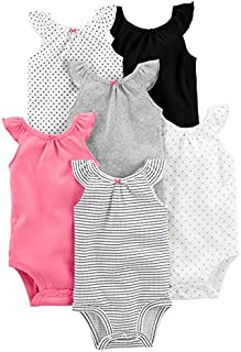 Simple Joys by Carter's Baby Girls' 6-Pack Sleeveless...