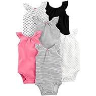 Simple Joys by Carter's Baby Girls' 6-Pack Sleeveless Bodysuit